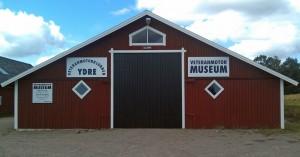 Med många ideella timmar färdigställdes vårt museum 2011