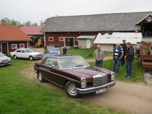 Besök av Östergötlands Mercedes 124 klubb